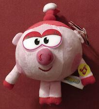 Тalking soft doll Nusha Pig 1 song 7 phrases Kikoriki Go Riki Smeshariki 10 cm