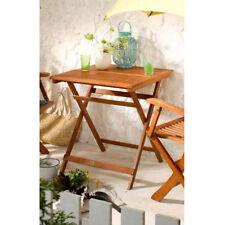 Gartentisch 70x70 Klapptisch Bistrotisch Holztisch Klappfuktion Eukalyptus Tisch