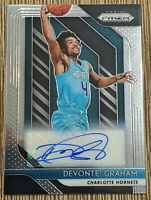 2018-19 Panini Prizm Devonte Graham Rookie Card RC 🏀 Auto Autograph Qty