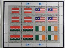 unicef 1982 Briefmarken FLAGGEN SERIE - Austria Malaysia Seychelles Ireland  PF