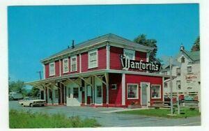 "NJ Flemington New Jersey vintage post card ""Danforth's Restaurant"""