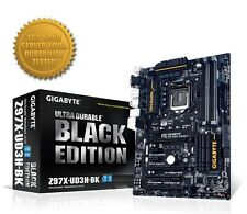 Gigabyte Z97X-UD3H-BK (Black Edition) Motherboard, LGA1150, DDR3, Intel Z97