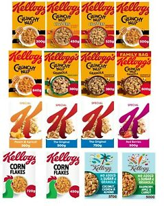 (300g/750g)Kellogg'S Crunchy Nut,No Added Sugar Granola,Special K Original