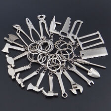 Creative Stainless Key Ring Keychain Spanner Carpenter Tool Pendant Keyring Gift