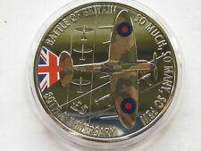 Guernsey 2020 copper nickel Five Pound Battle of Britain 80th UNC in capsule