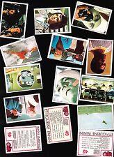 FIGURINE PANINI 1973 -  UFO SHADO- NUOVE INTEGRE NON USATE - PERFETTE !!!