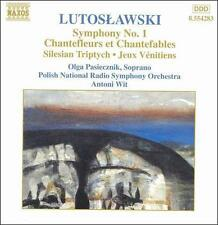 Lutoslawski: Symphony No. 1; Chantefleurs et Chantefables; etc. (CD 1999) EX