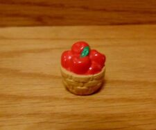 Hallmark Merry Miniature 1994 Basket of Red Apples Thanksgiving New Qfm8356