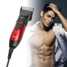 Men Electric Hair Clipper Trimmer Beard Shaver Razor Haircut Barber Brush EUplug
