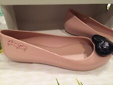 JEREMY SCOTT Melissa Nude Inflatable Shoes UK5 EU 38 RRP £86!! Great For Summer!