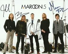Maroon 5 8.5x11 Signed Autograph RP [Mint]