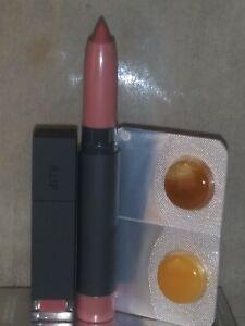 NEW BITE BEAUTY MINI LIPSTICK ECLI + MINI Matte Crème Lip Crayon GLACE + LIP SCR