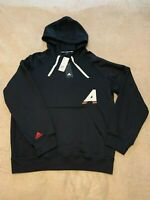 Adidas Men's Marquee Hoodie Pullover Sweatshirt Black Basketball SZ M NWT $110