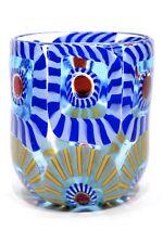 Mario Formentello - Bicchiere con murrine in vetro di Murano firmato