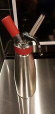 iSi Gourmet Whip Sahnespender Sahnebereiter Espuma 1,0 Liter und 2x 24 Stück
