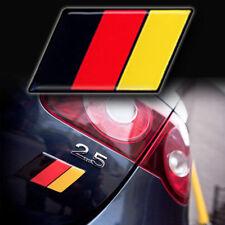 1 - NEW German Flag EUROBADGE euro badge emblem for audi 1.8t vw gti jetta (BRY)