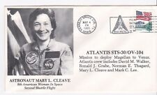 ASTRONAUT MARY CLEAVE ATLANTIS STS-30/OV104 LAUNCH KENNEDY SPC CTR, FL 5/4/89