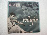 RAHGIR HEMANT KUMAR TAE 1460 1968 RARE BOLLYWOOD india OST EP 45 rpm RECORD vg+