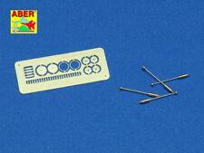 Indicador de anchura para SD. KFZ 231/232 y SD. KFZ 250/251 (4 piezas) #35R28 1/35 aber