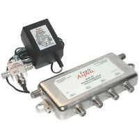 EAGLE ASPEN SHN24-KIT Signal Combiner/Amplified 4-Way Splitter for HDTV/TV/Cable
