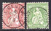 SWITZERLAND 46-47 CDS F/VF $125 SCV