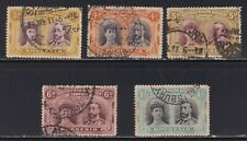 Rhodesia SG 135//152 Scott 105//111 1910 Queen Mary & George V 5 Stamps SCV $233