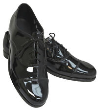 New Men's Black Tuxedo Shoes Cap Toe Dress Shoes Formal Wedding Prom Mason 11W