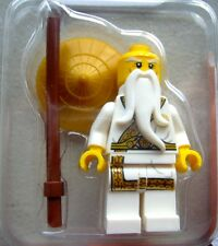 NEW Sensei Wu Exclusive Lego Minifigure Mini Minifig Ninjago Secret World Master