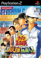 PS2 Tennis no Oji-Sama: Form the strongest Team Japan Import Game Japanese