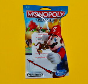 Super Mario Monopoly Gamer Board Game - Diddy Kong Figure (New)