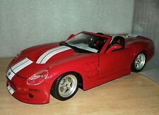 shelby series 1 de 1999 burago 1:18 americano maqueta coche