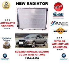 FOR SUBARU IMPREZA SALOON GC 2.0 Turbo GT AWD 1994->2000 NEW RADIATOR OE QUALITY