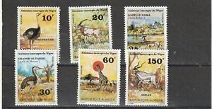 NIGER - 1981 MNH SG839-844 WILD ANIMALS