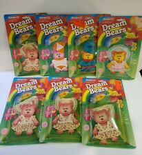 "Lot of Vtg 1984 Remco DREAM BEARS Clothing - Fits Dream & Care Bears 3-4"" Tall"