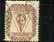 PRO- JORGE ELIECER GAITAN  1945 >>COLOMBIA rare cancel postal