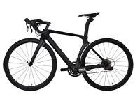 AERO Carbon Road Bike 12 Speed Frame Wheel Complete Bicycle V brake 50cm