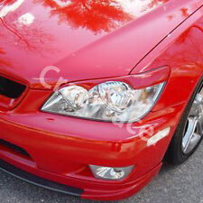 Unpainted Headlight Cover Eyelid Eyebrow For Lexus IS200 99-04 T Style FRP