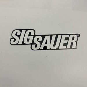 Sig Sauer Logo Decal Sticker OEM NEW Black & White