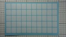 50 x White Blank Keyboard Stickers Non-transparent Computer Laptop PC Antiglare