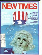 New Times Magazine May 16 1975 The Credit Crisis EX w/ML 050817nonjhe