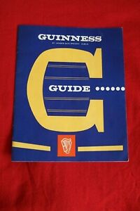 VINTAGE GUINNESS GUIDE BOOKLET 1950'S ST JAMES'S GATE BREWERY DUBLIN