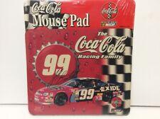 NASCAR Jeff Benton 99 Coca-Cola Racing Family MOUSE PAD Computer NEW Sealed