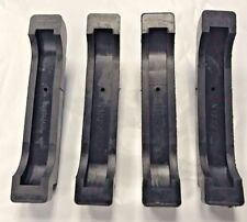 Radiator Pads Insulators Rubber 68-82 GM Correct with metal insert 4 piece 4CORE