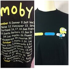 Vintage Moby T-shirt 2000 Xl USA New With Out Tags
