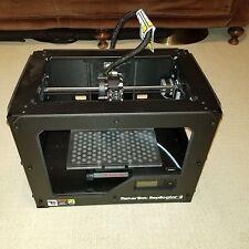 MakerBot Replicator 2 FDM PLA 3D Printer 100 Microns SD Card USB Interface