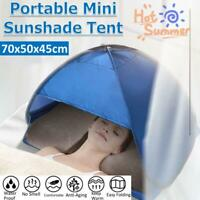 Pops Up Beach Tent Sun Shade Shelter Outdoor Camping Fishing Canopy For Head