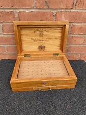 Vintage Wood humidor cigar storage box cabinet