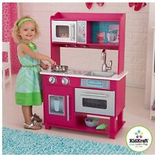 KidKraft Gracie Wooden Play Kitchen Play Food Holiday Christmas Gift Cooking Toy