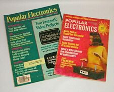 Vintage Popular Electronics Magazines November 1967, July 1977 Lot of 2