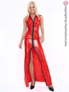 Latex Kleid - DER WAHNSINN - superduperlang und GENIAL - Größe zur Auswahl